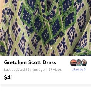 Beautiful Gretchen Scott dress